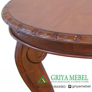 Detail Meja Hias bundar Pavilium _ griyamebel.com