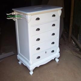 Kotak Angpao Model Buffet Duco Putih