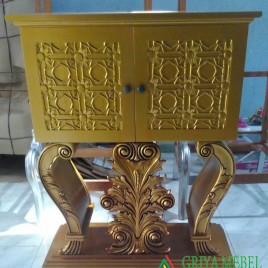 Meja Hias Foyer Royal Gold