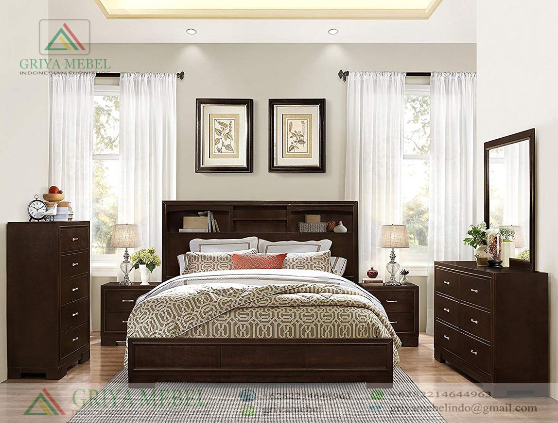 Set Kamar Tidur Minimalis Mewah Griya Mebel