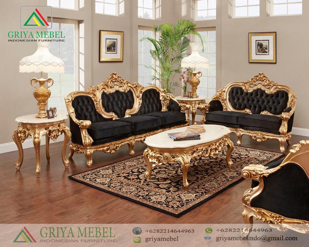 Sofa Tamu Klasik Modern Jepara Terbaru Griya Mebel