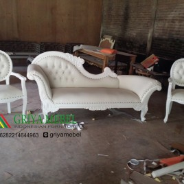 Set Sofa Wedding Cleopatra Duco Putih