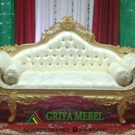 Set Sofa Wedding Ukir Gold Minerva