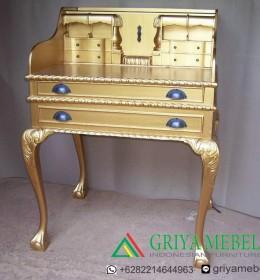 Meja Angpao Chippendale Gold, meja angpao pianao, kotak angpao piano, kotak angpao murah, kotak angpao klasik, furniture dekorasi, mebel dekorasi, furniture duco putih, meja belajar anak, meja belajar, meja belajar murah, Meja Ampao Toa, Meja Ampao Toa Murah, Meja Ampao Piano Murah, kotak angpao Piano Gold