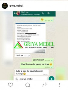 testimoni furniture jepara_ griyamebel