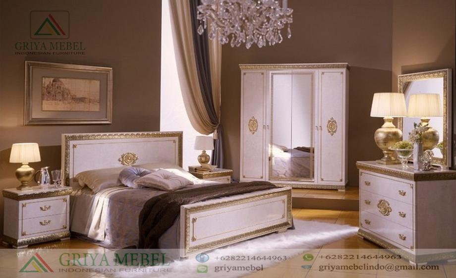 Furniture Kamar Tidur Utama Mewah Terbaru