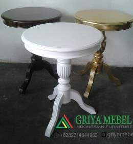 Meja Hias Dekorasi Bundar, meja hias murah, ukuran meja hias, harga meja hias, meja hias terbaru, meja hias minimalis, jual meja hias, meja voyer, jual meja voyer, meja teras, furniture dekorasi, furniture decor, furniture duco putih, furniture murah, indonesian furnitures, meja gallery murah, desain meja voyer, meja bunga, meja standing flower, mebel jepara, mebel dekor, meubel indonesia, Meja Hias Bulat Salur