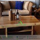 Meja Sofa Antik Kayu Trembesi