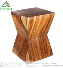 Stool Retro Kayu Trembesi